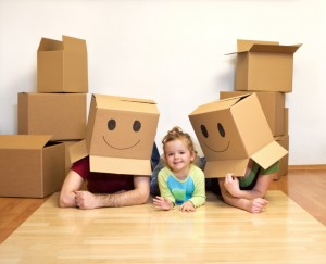 Moving Tips for Our Military Families: When Moving With Kids, Try to Stay Positive