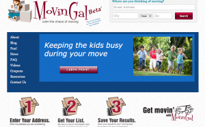 MovinGal Home Page