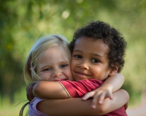 Hugging Children