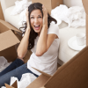 girl stressed out moving